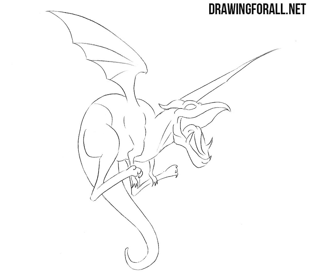 How to draw Lockheed from Marvel
