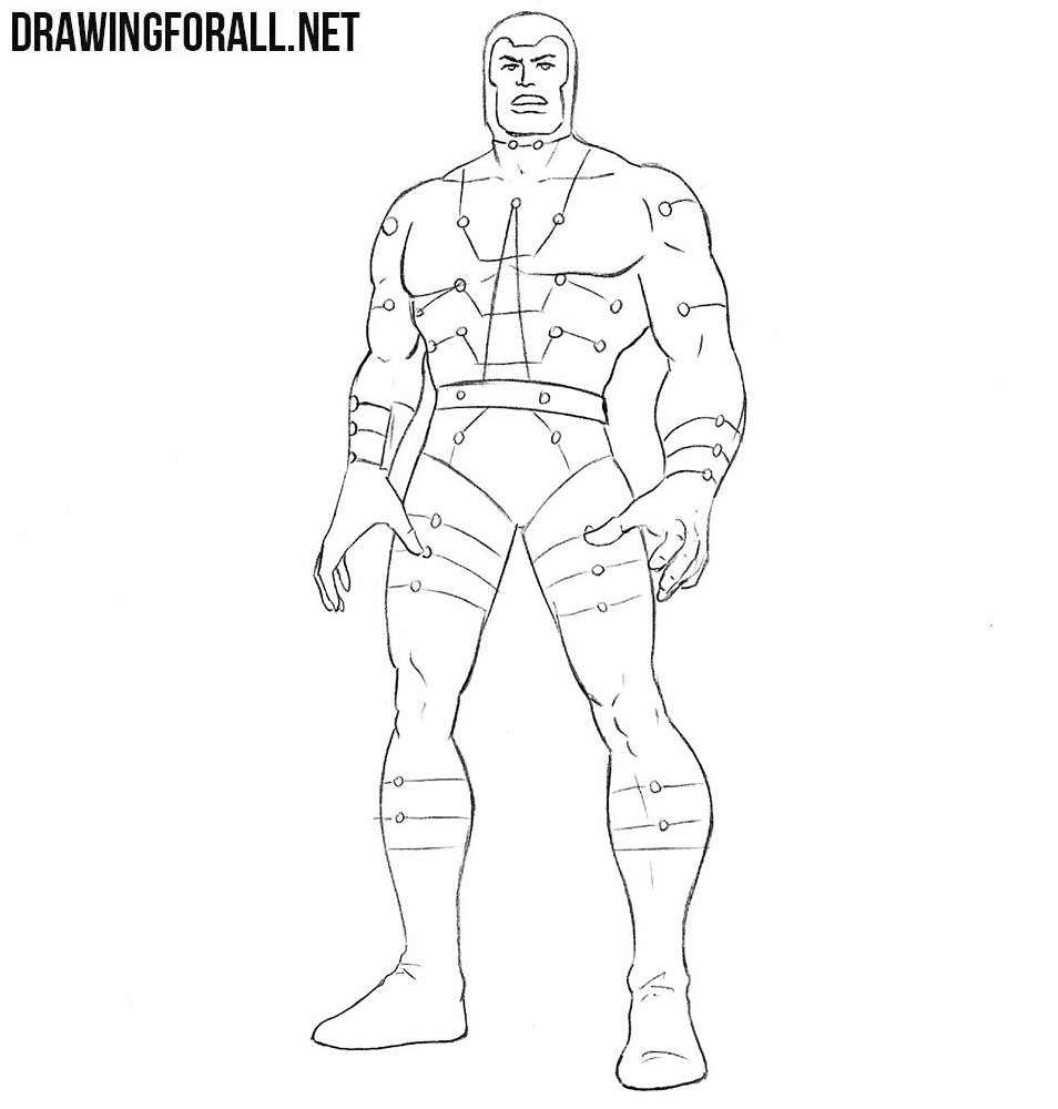 How to draw the Multiple Man from marvel comics