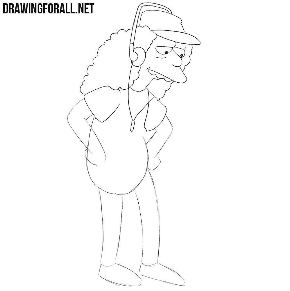 How to draw the simpsons