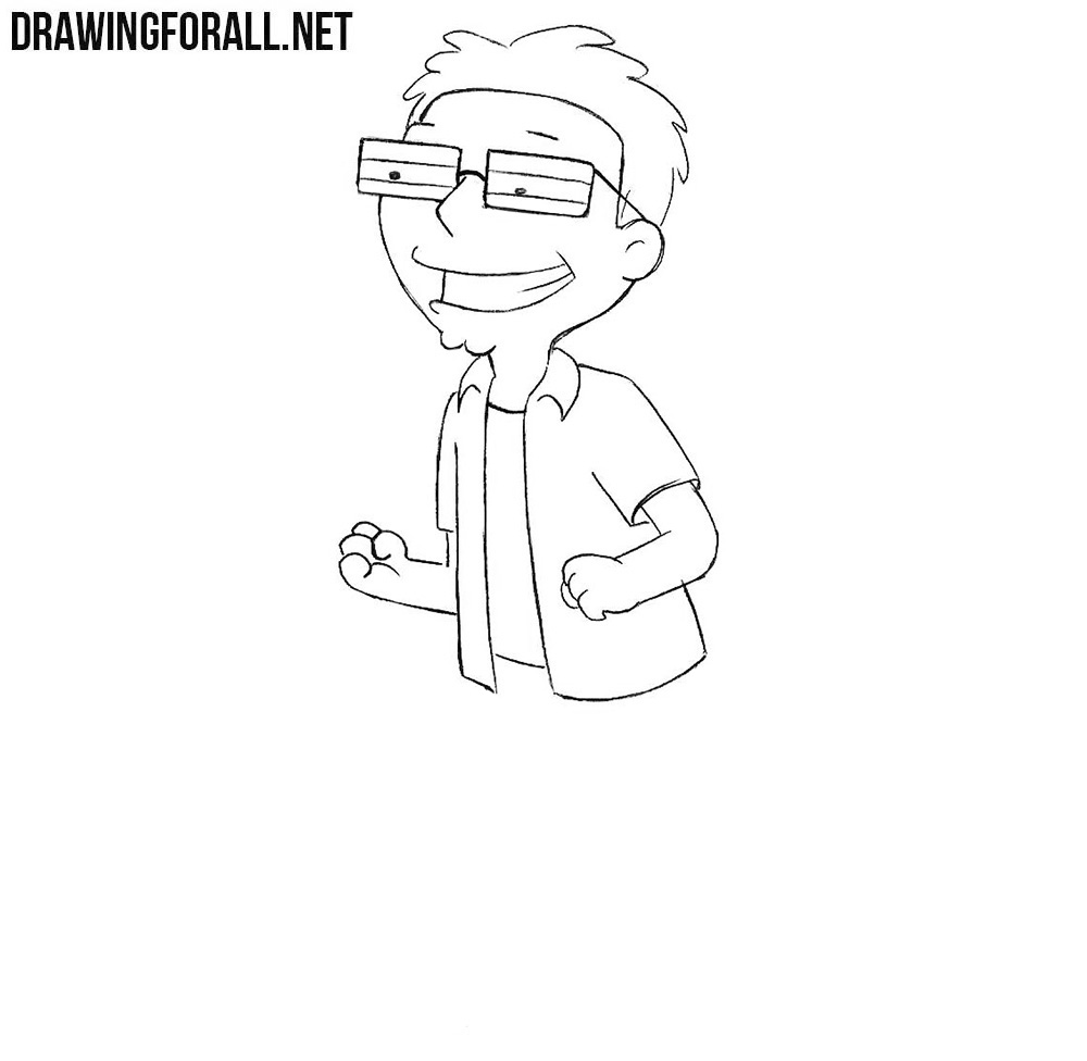 Learn how to draw Steve Smith step by step