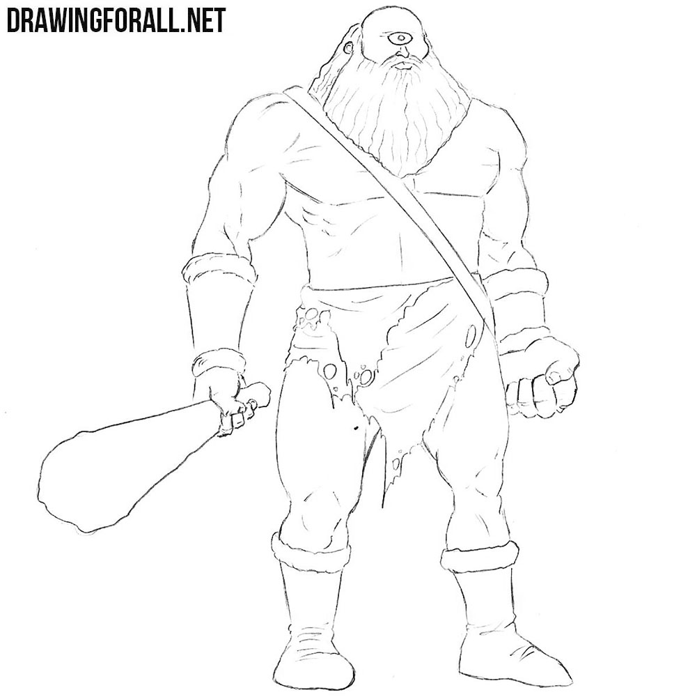 Cyclops drawing