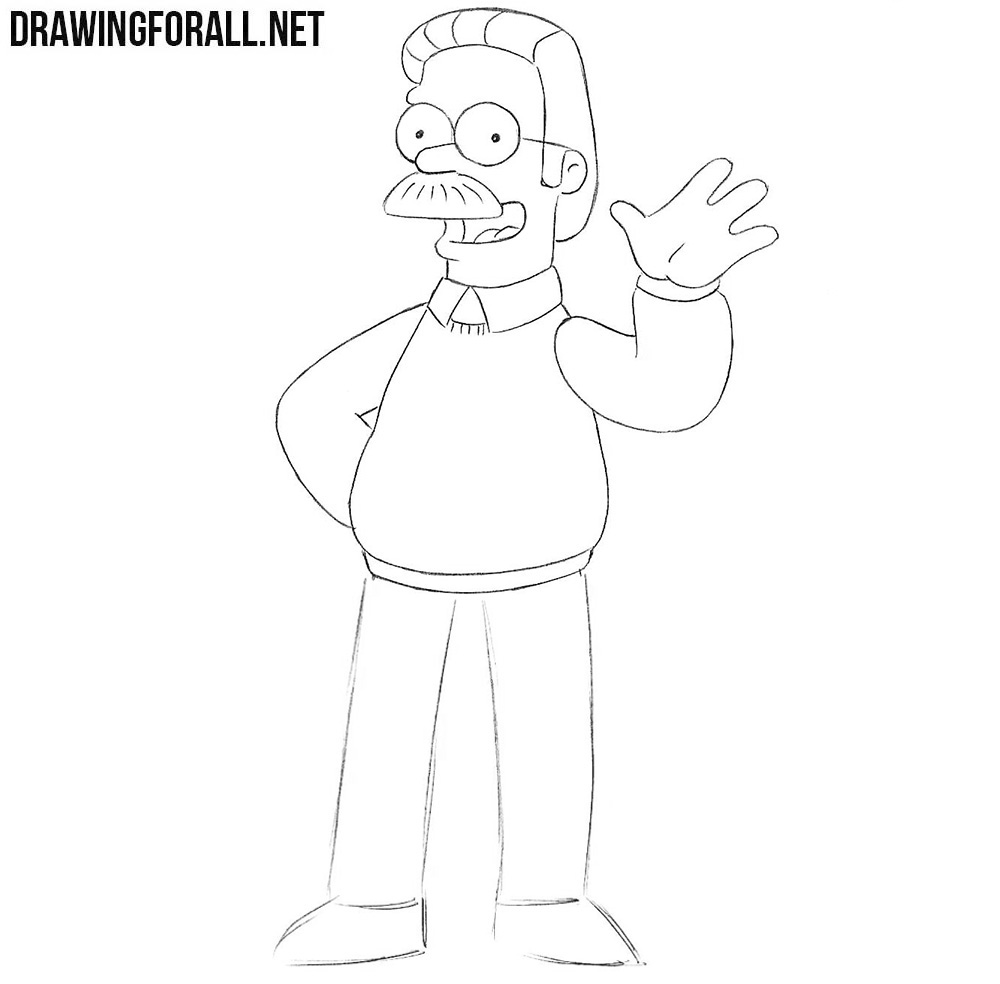 Flanders drawing tutorial
