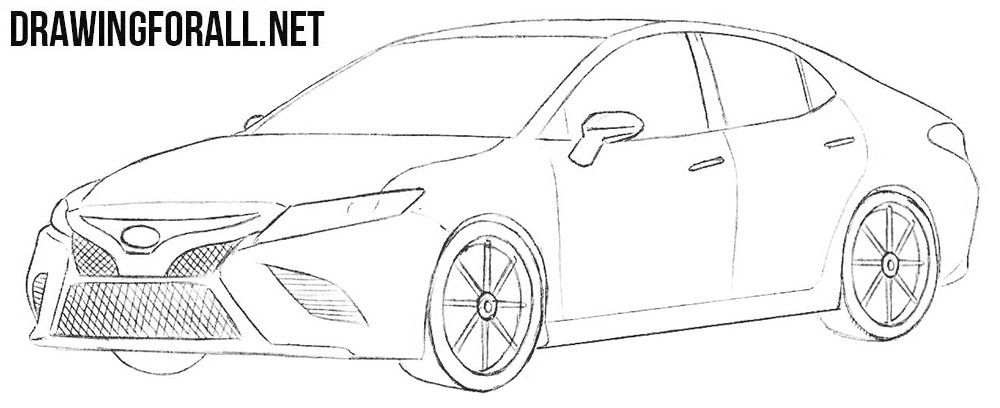 How can draw a car