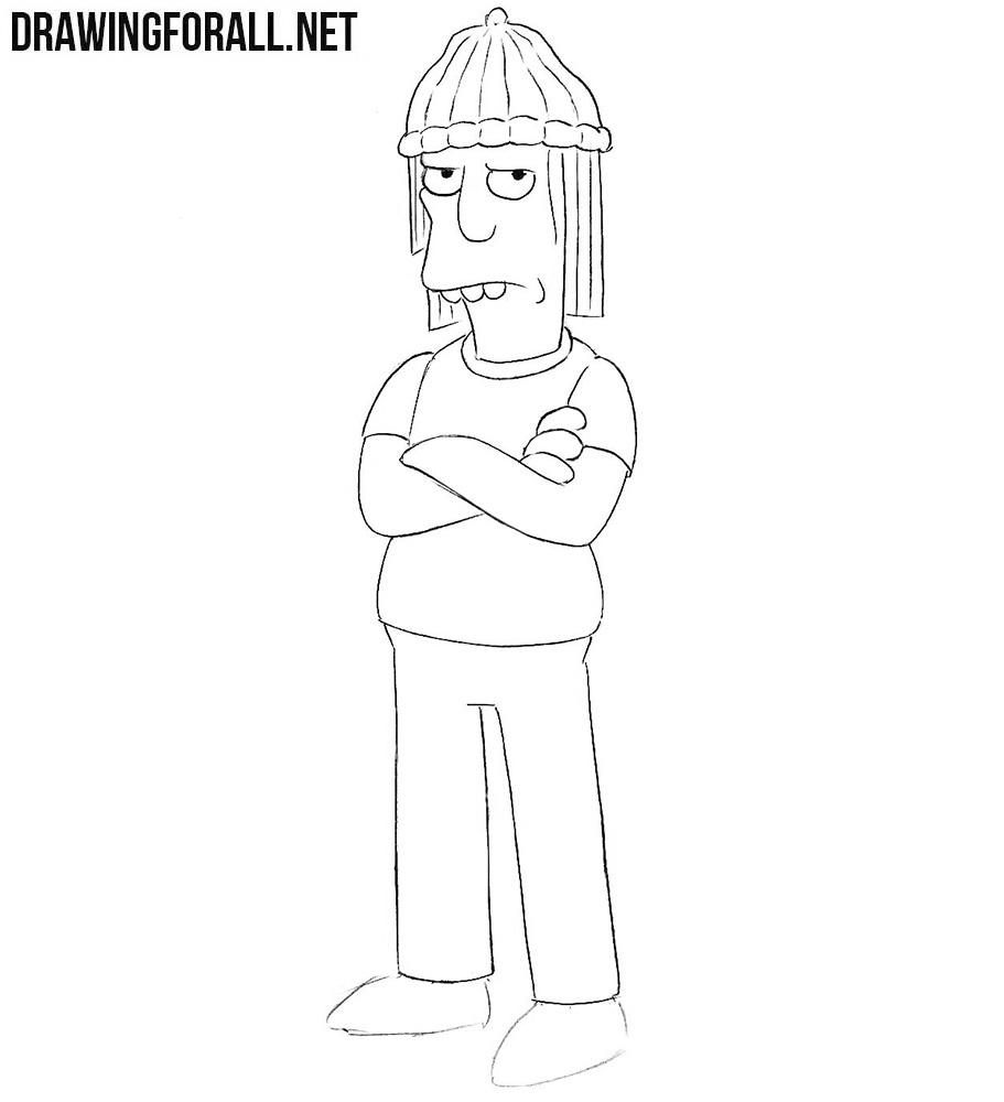 How to draw Jimbo Jones