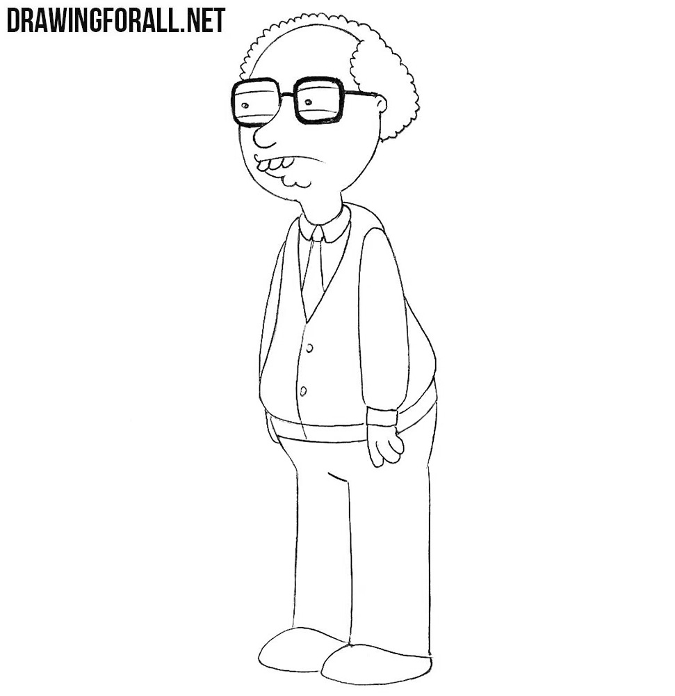 How to draw Neil Goldman