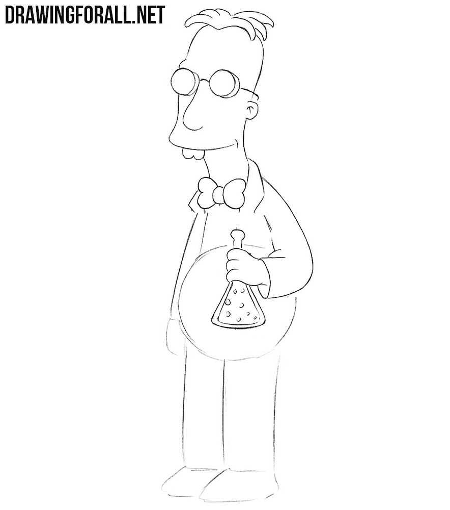 How to draw Professor Frink