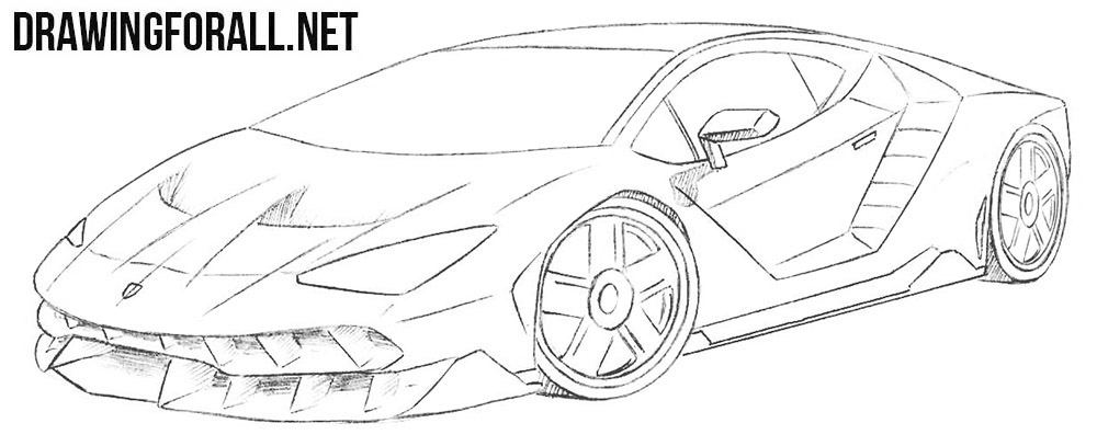How To Draw A Race Car Step By Step Drawingforall Net