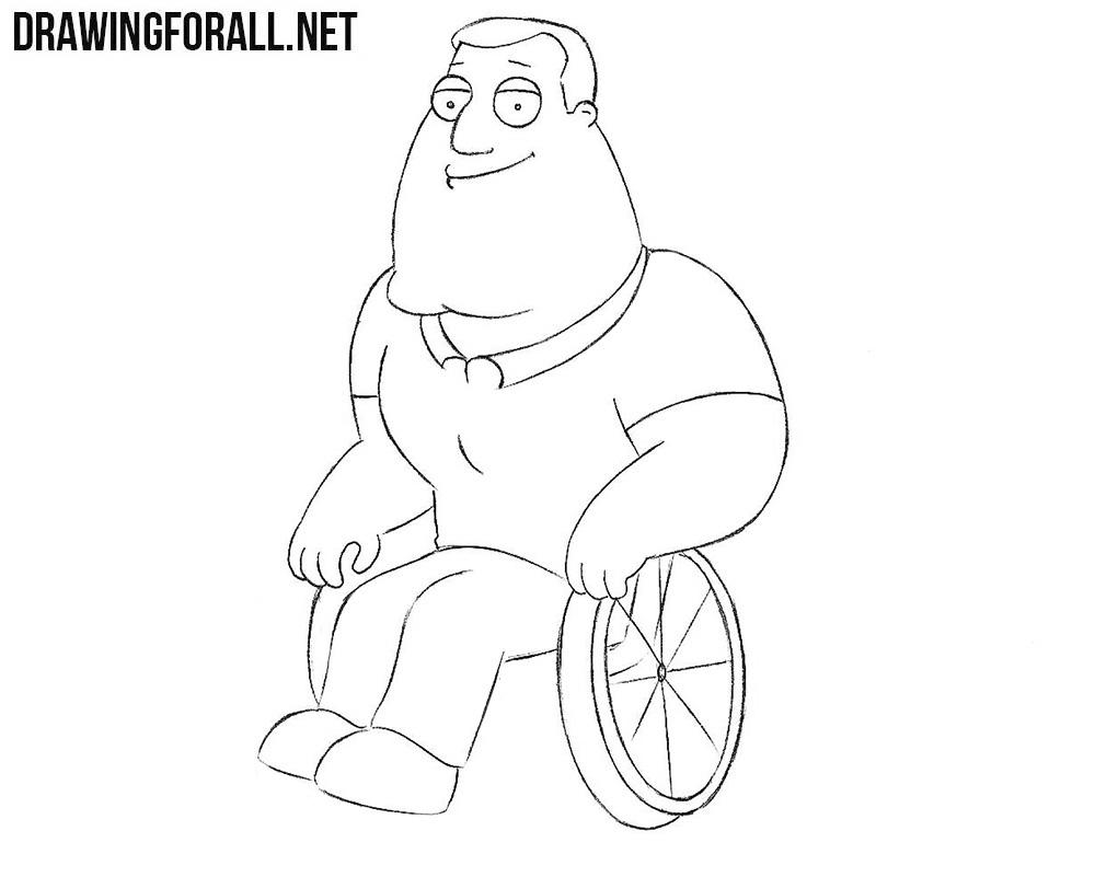 Joe Swanson drawing tutorial