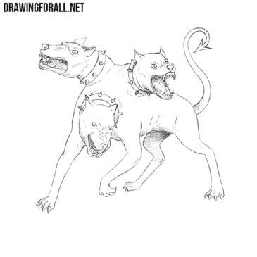 How to Draw Cerberus