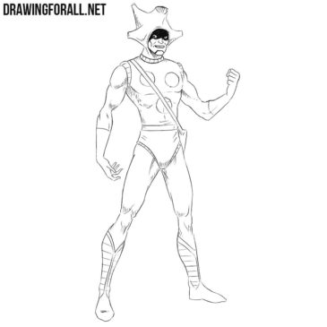 How to Draw Changeling from Marvel