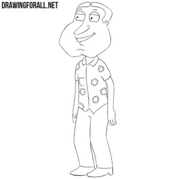 How to Draw Glenn Quagmire