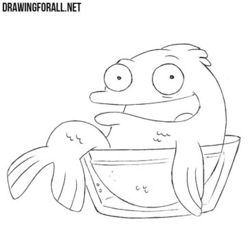 How to Draw Klaus from American Dad