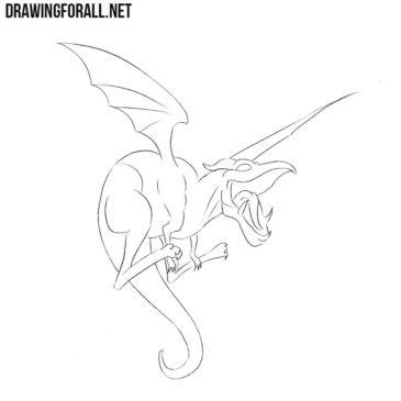 How to Draw Lockheed from Marvel