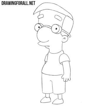 How to Draw Milhouse