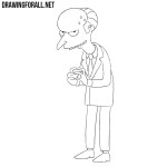 How to Draw Mr. Burns