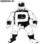 How to Draw Puck from Marvel