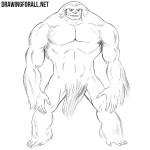 How to Draw Sasquatch