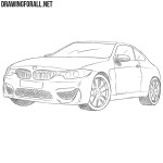 How to Draw a BMW M4
