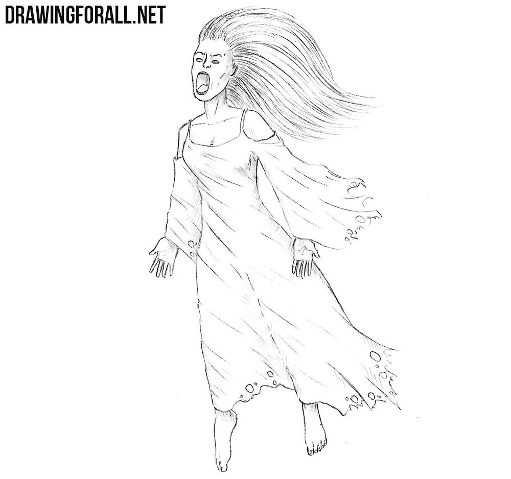 How to draw a Banshee