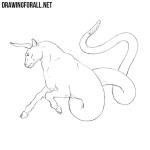 How to Draw an Ophiotaurus