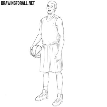 How to Draw a Basketball Player