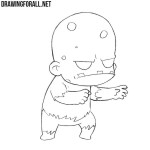 How to Draw a Chibi Zombie