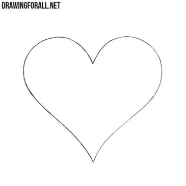 How to Draw a Heart Easy