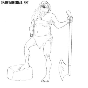 How to Draw a Leshy