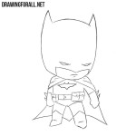 How to Draw Chibi Batman