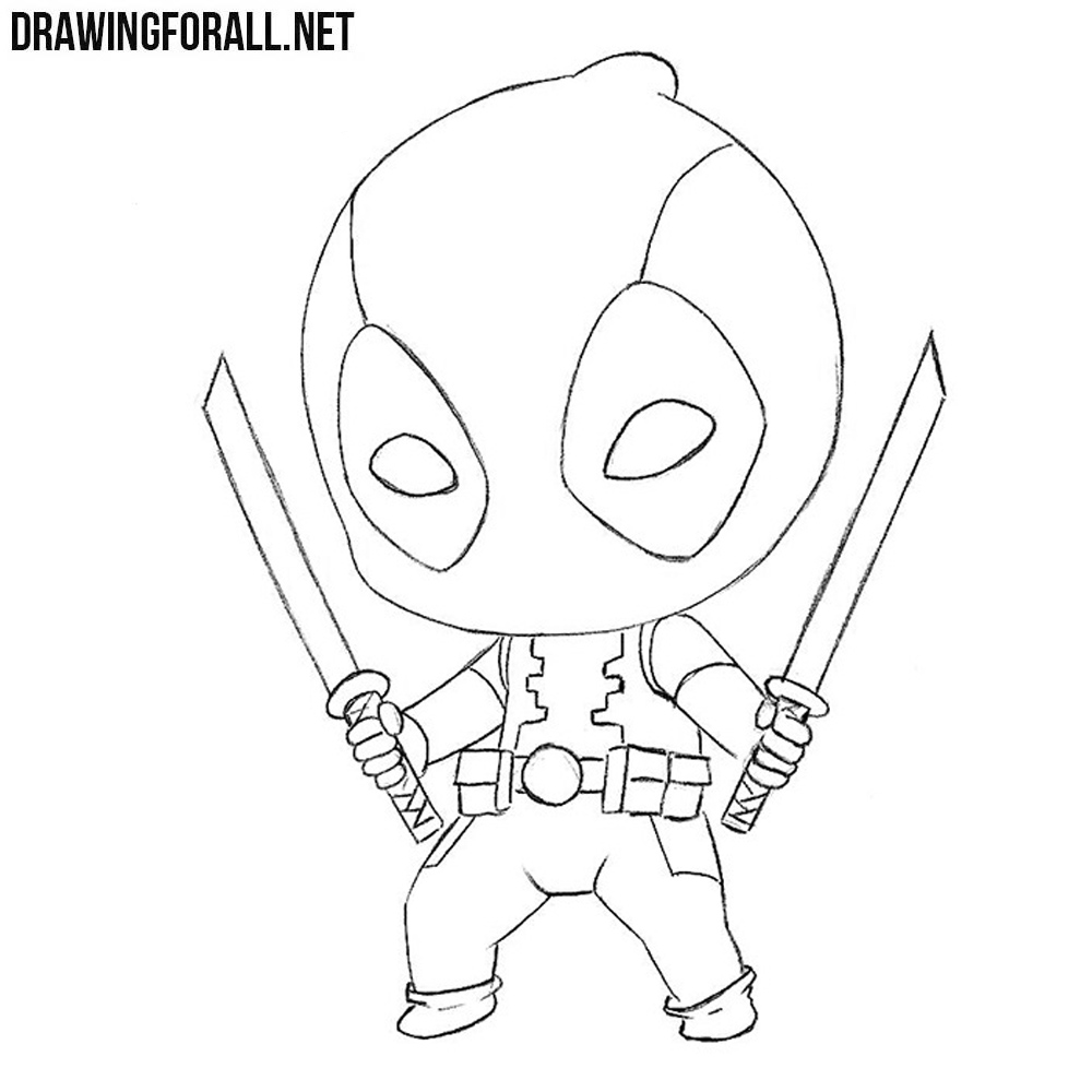How To Draw Chibi Deadpool Drawingforall Net
