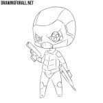 How to Draw Chibi Deadshot