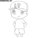 How to Draw Chibi John Cena