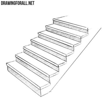 How to Draw Stairs