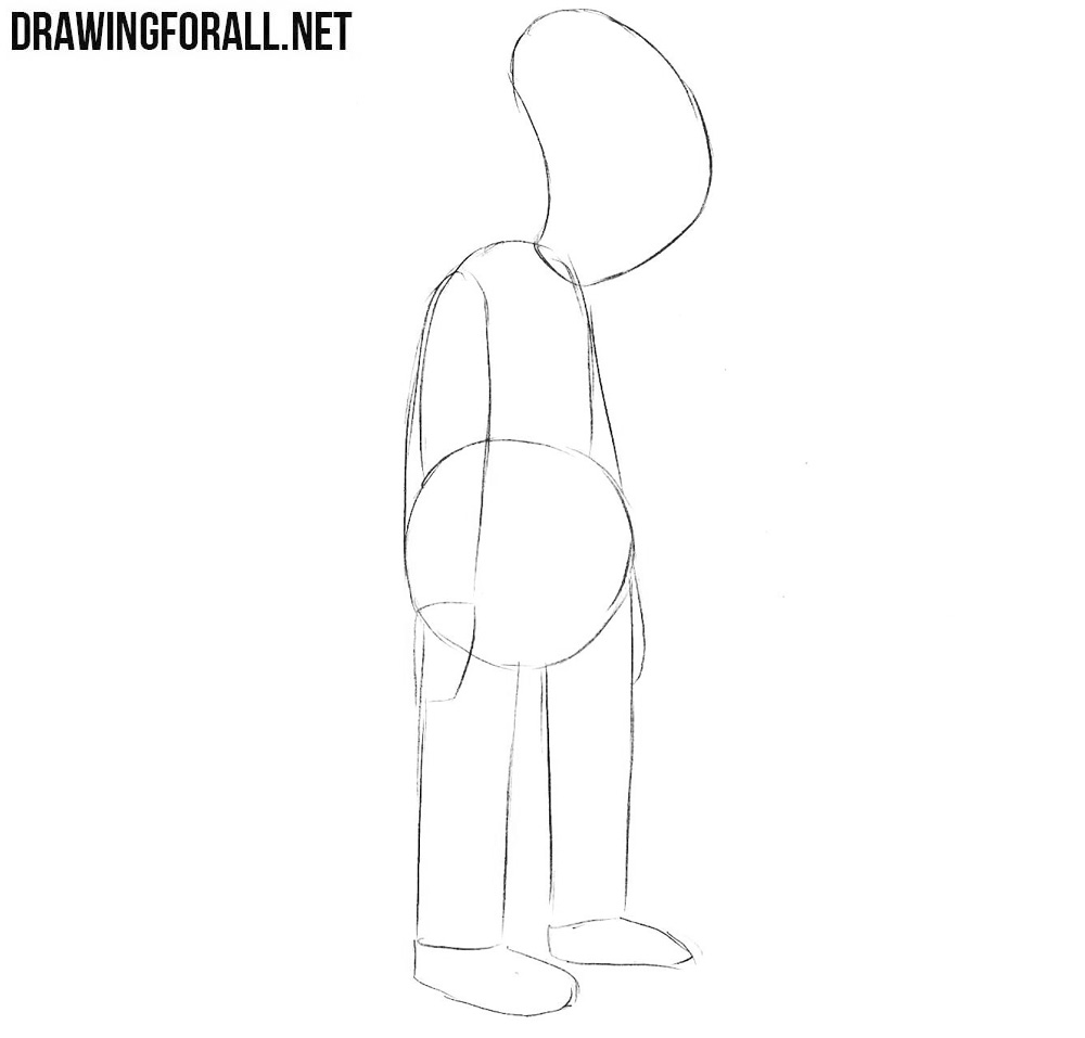 Learn how to draw Hubert Farnsworth