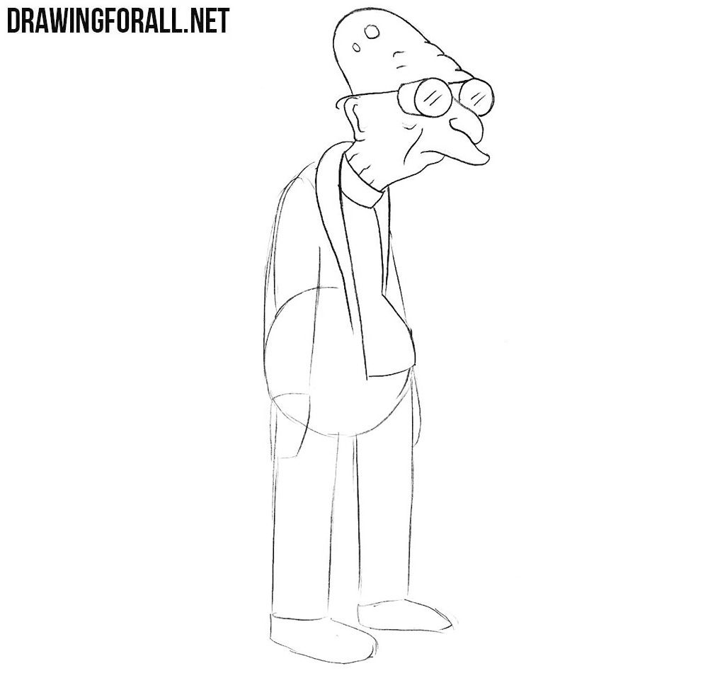 How to draw Futurama
