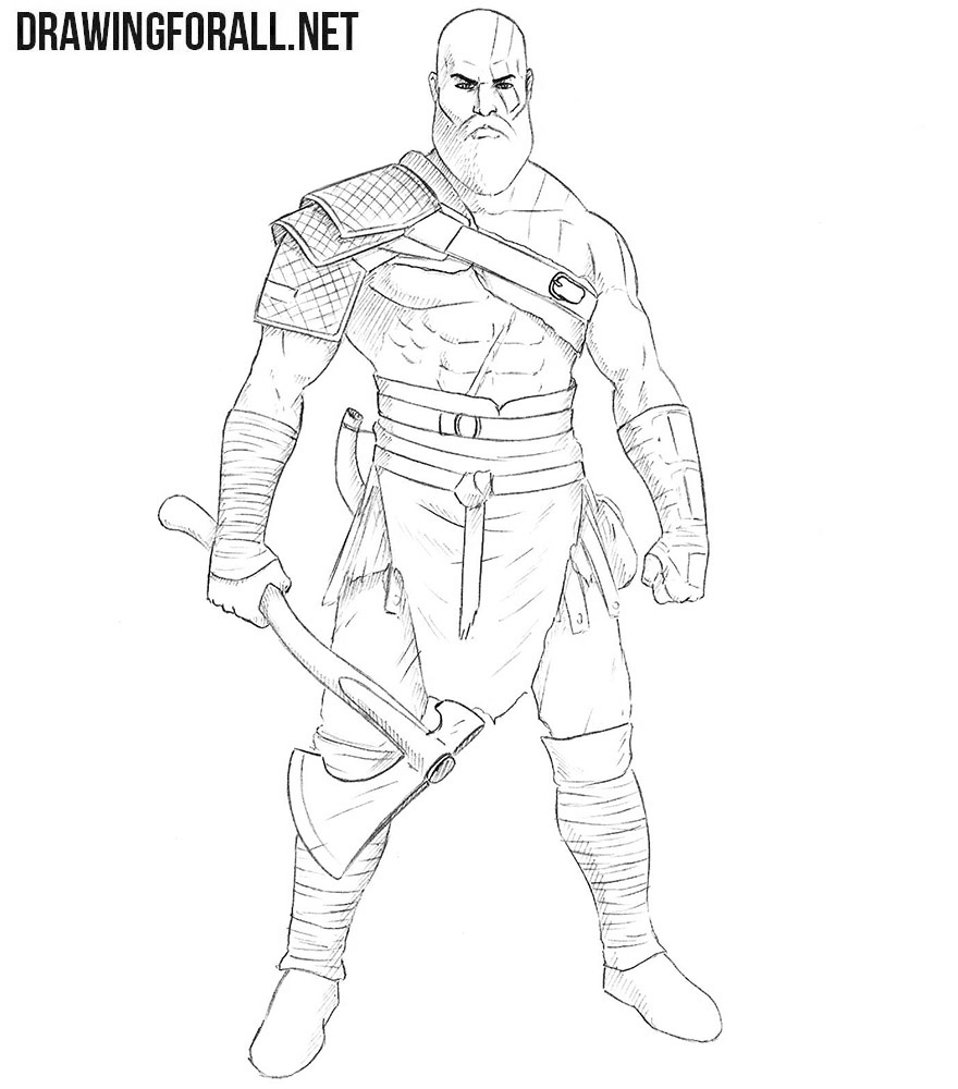 Kratos drawing tutorial