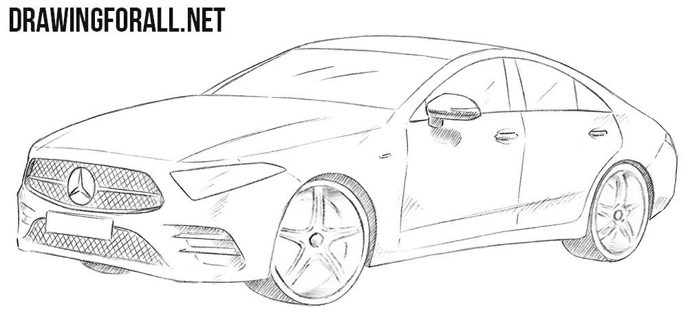 Mercedes-Benz CLS drawing
