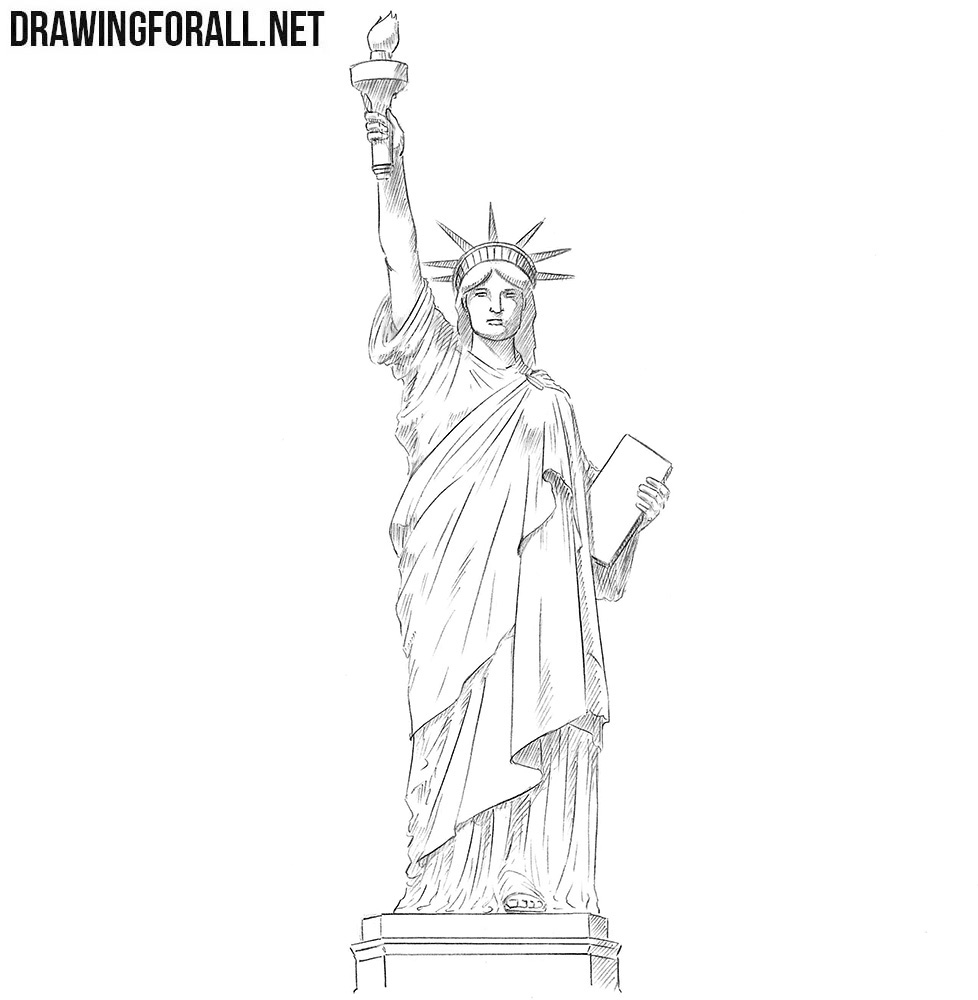 Statue of Liberty drawing