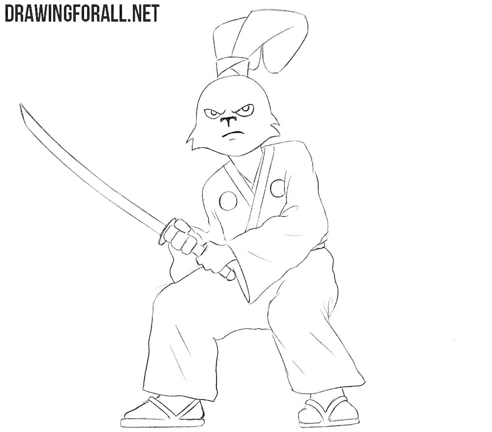 Usagi Yojimbo drawing tutorial