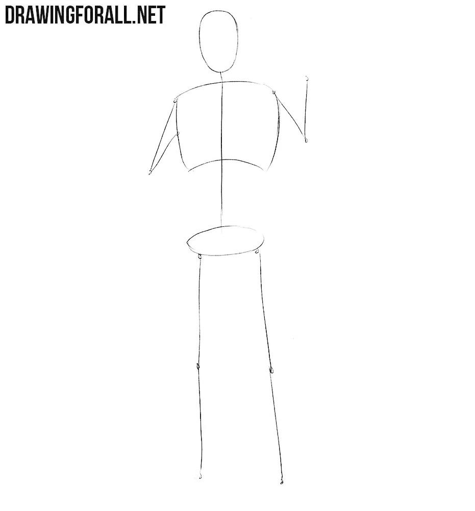 Learn how to draw J. Jonah Jameson