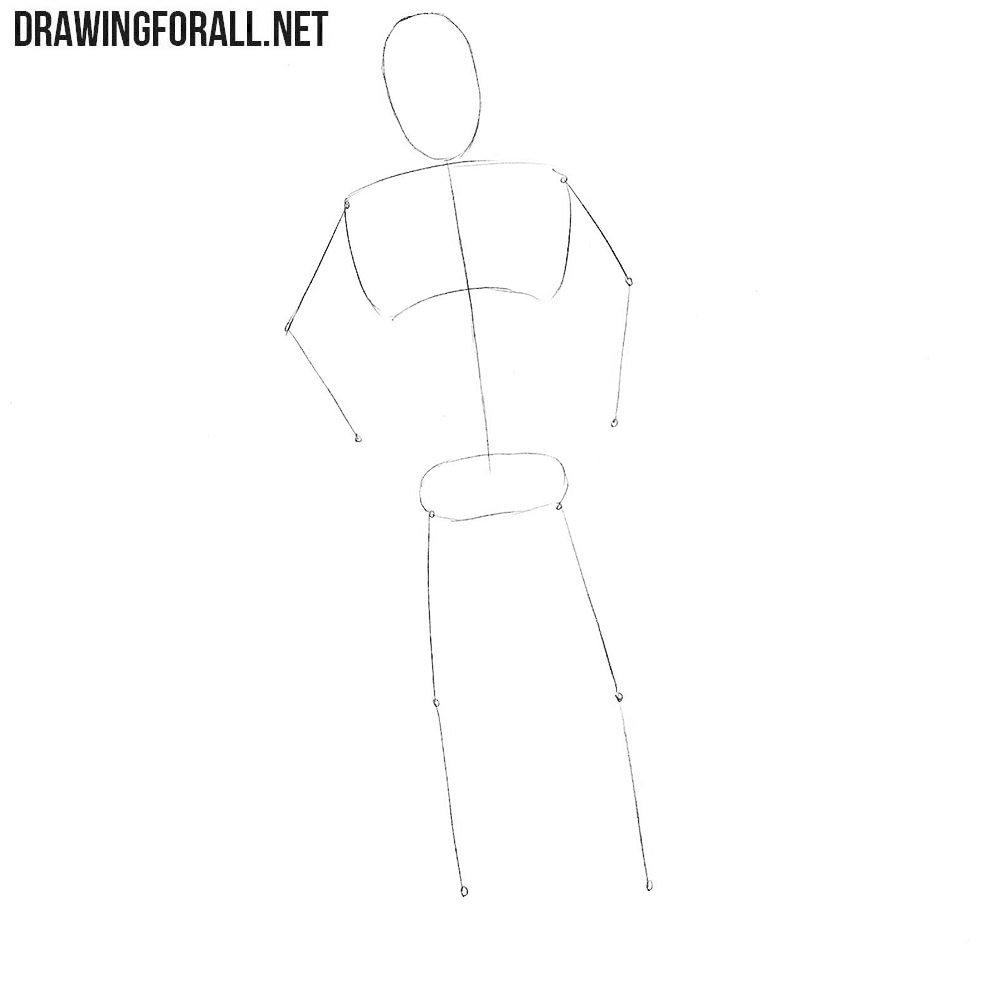 How to draw Jesse Custer