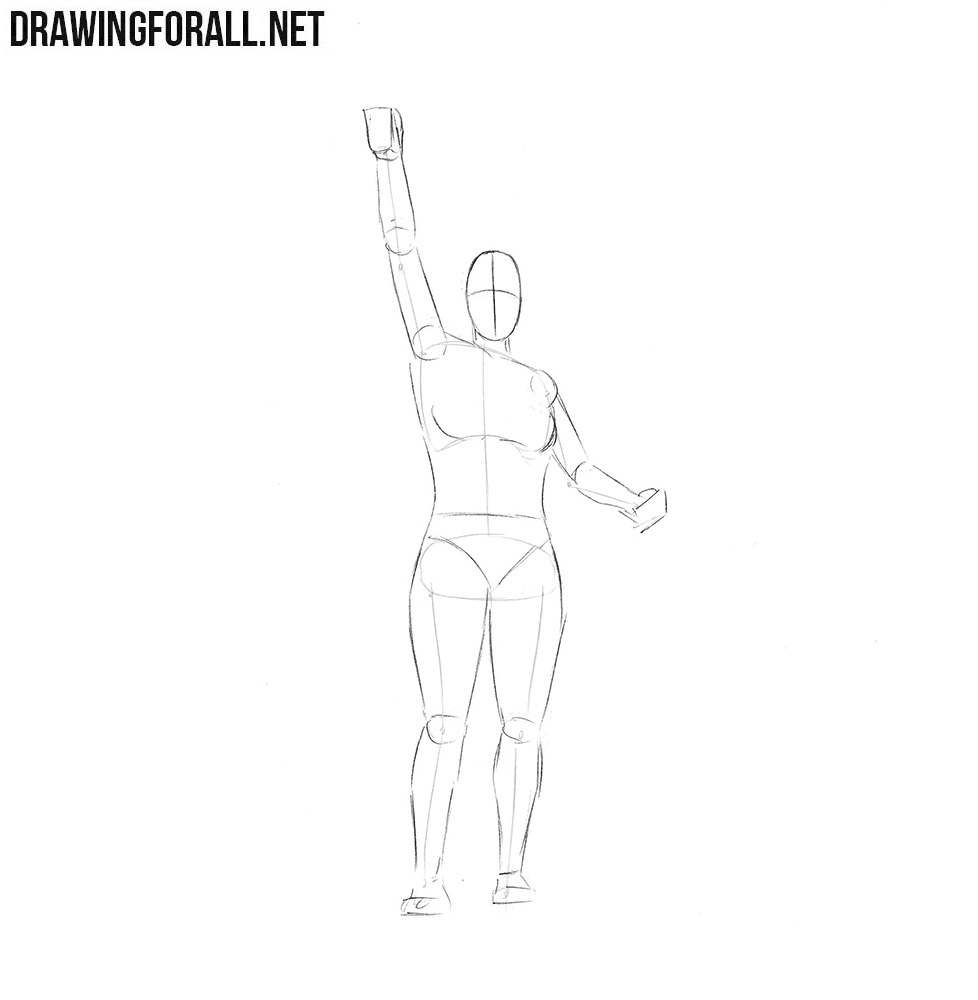 How to draw usa symbol
