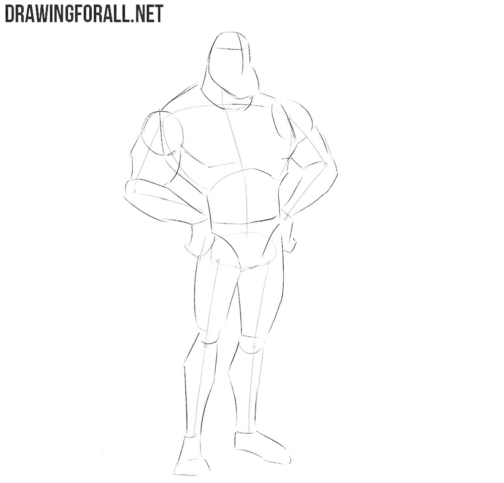 The Tick drawing tutorial