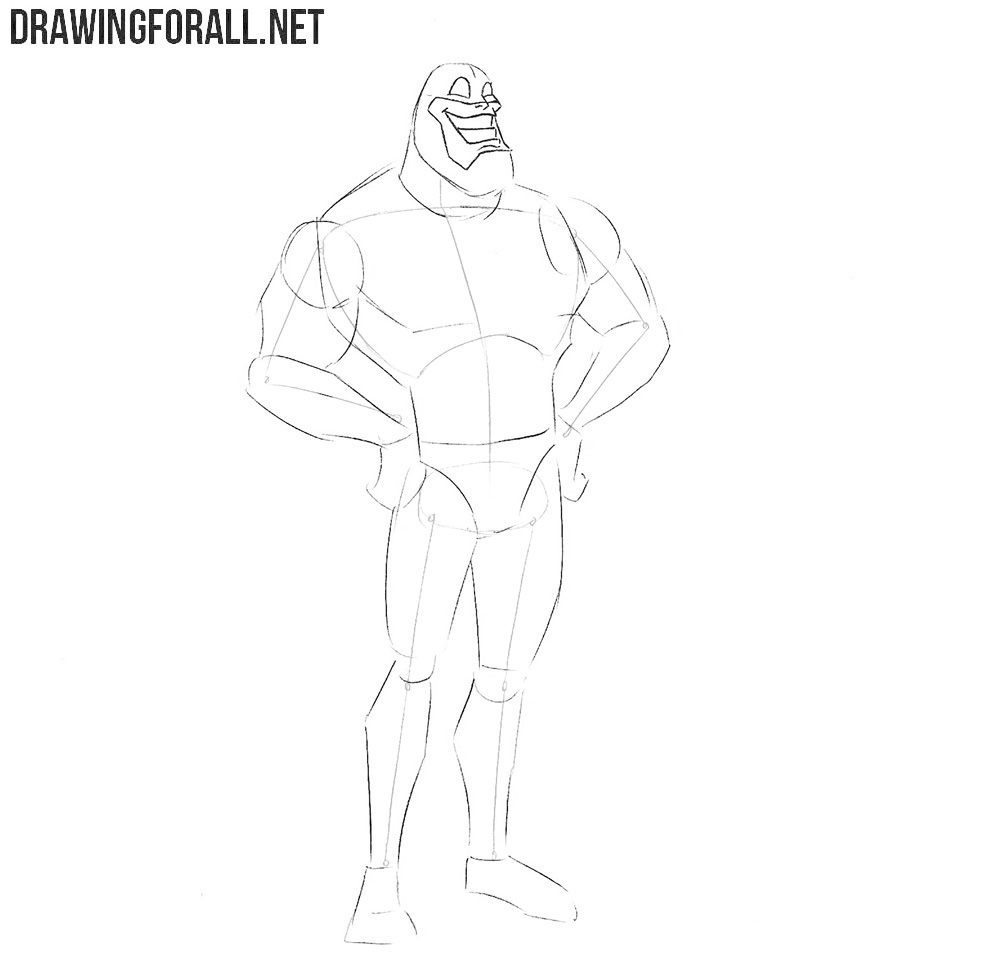 Learn how to draw the Tick step by step