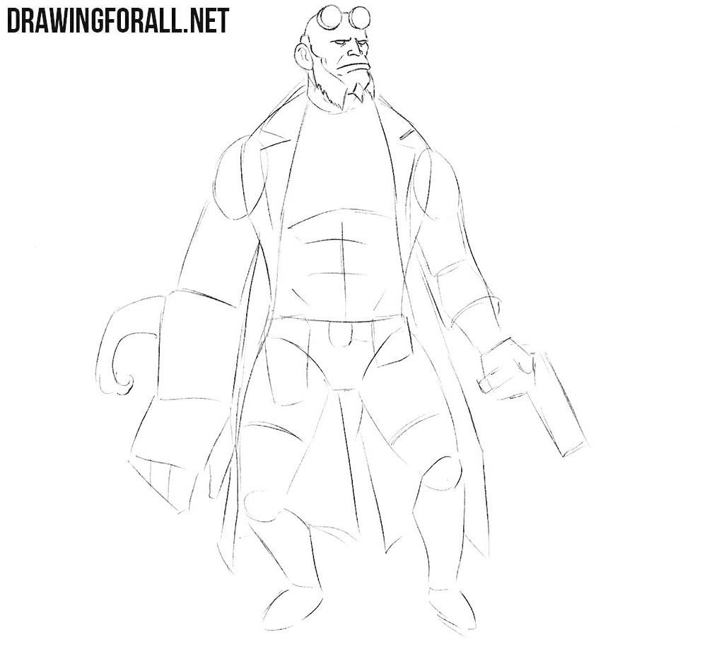 Hellboy art