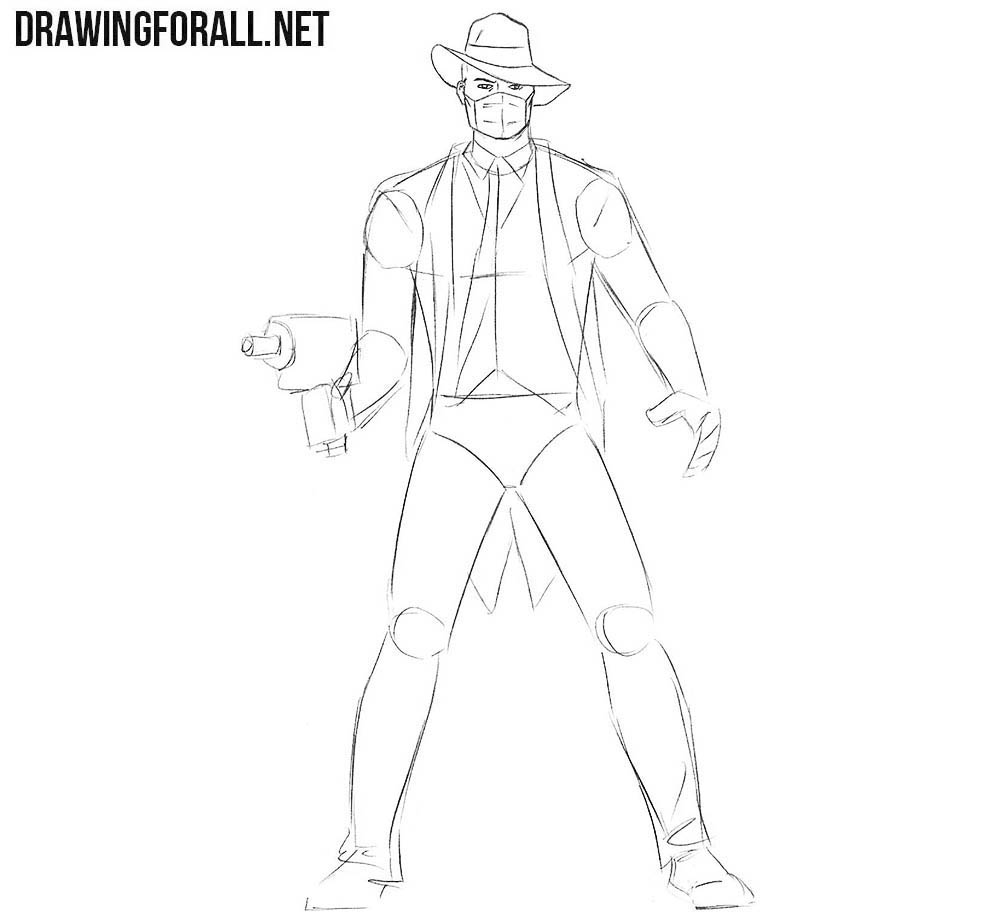 How to draw Doctor Nemesis
