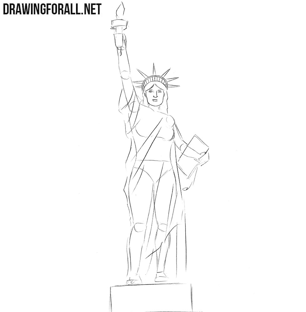 How to draw USA
