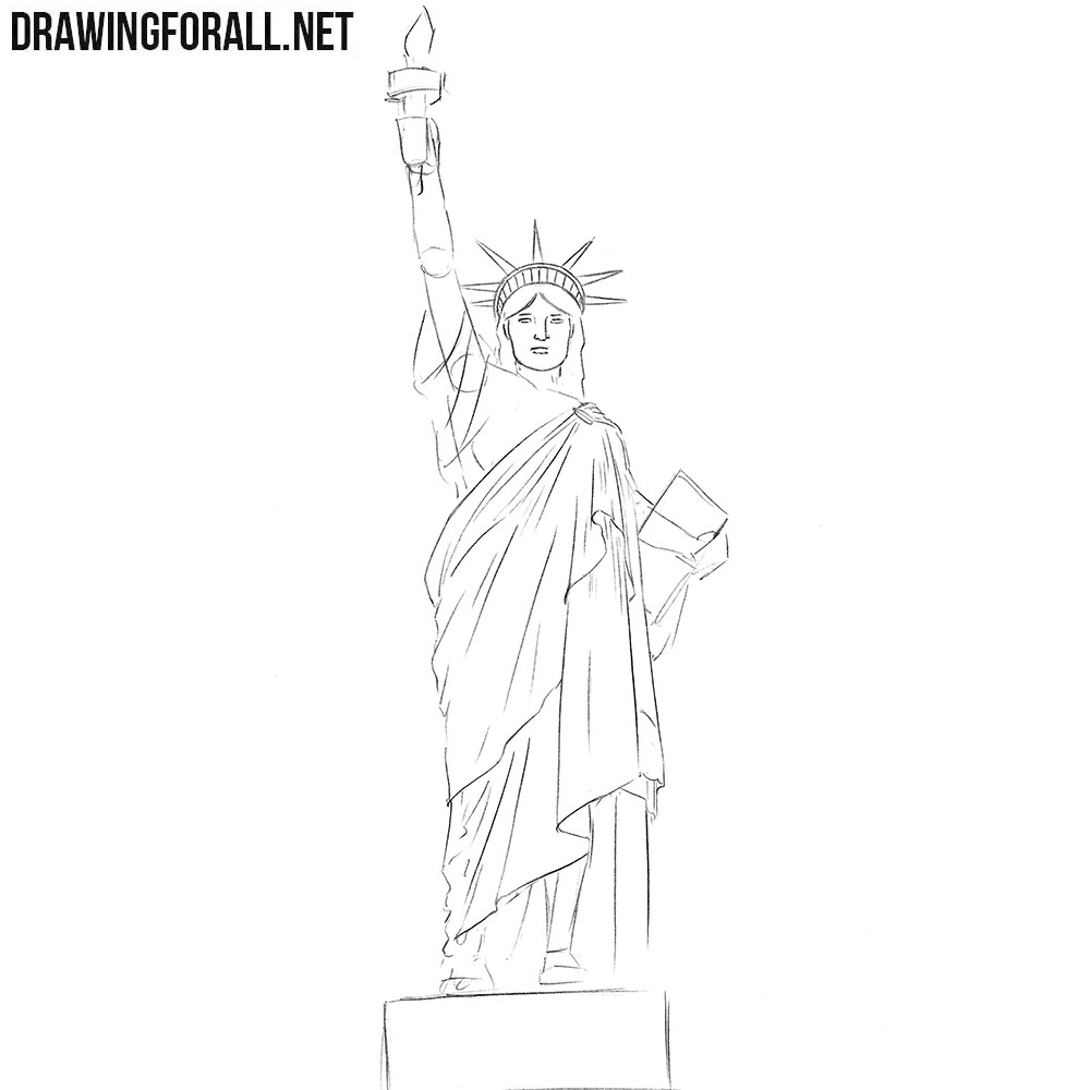How to draw new york