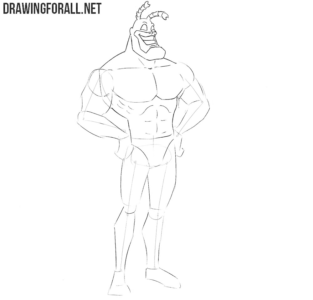 How to draw the Tick easy