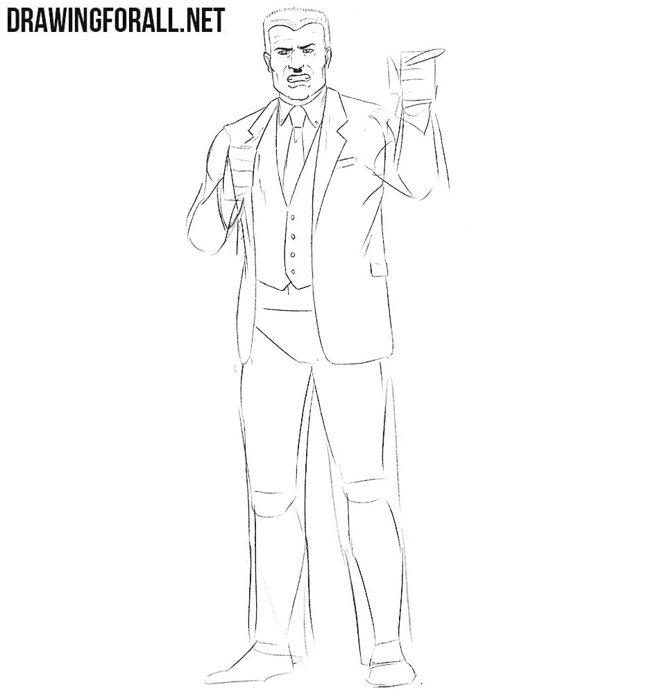 How to draw characters from spider man